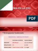 Anemia en La Erc
