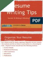 Online Resume Maker