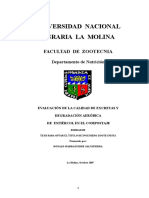 EVALUACIÓN DE LA CALIDAD DE EXCRETAS Y  DEGRADACIÓN AERÓBICA  DE  ESTIÉRCOL EN EL COMPOSTAJE