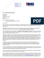 Letter from U.S. Wage and Hour Division