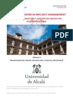 Informacion Convocatoria Master en Direccion de Proyectos MDAP