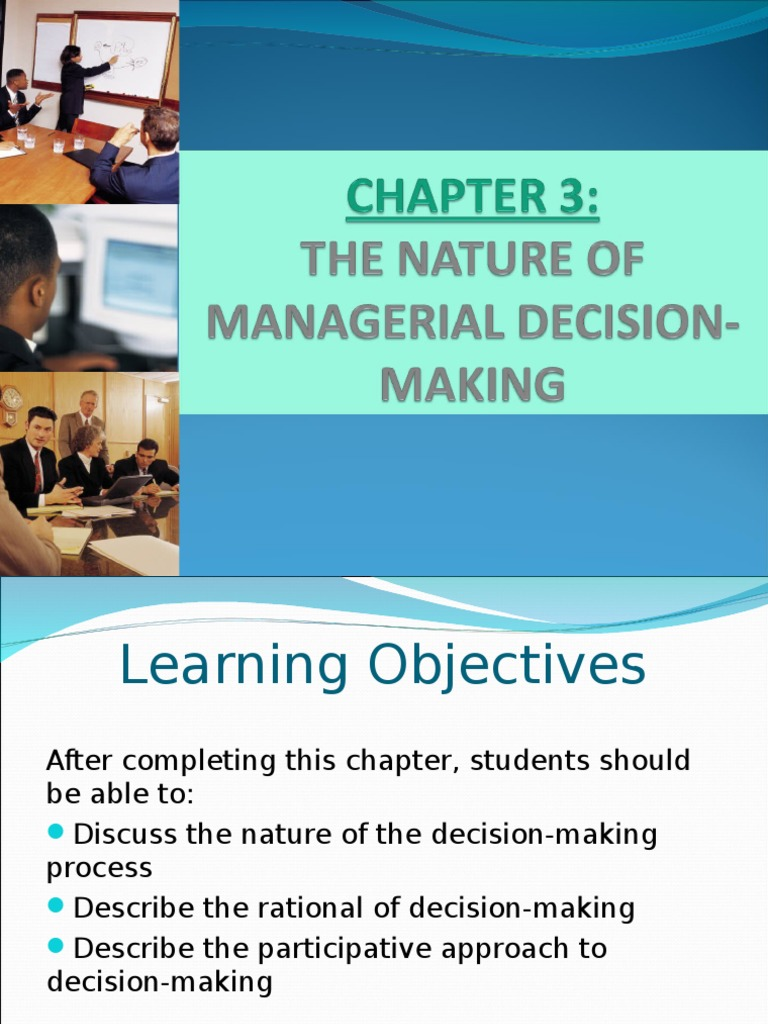 a discuss programmed and non programmed decision making giving examples What impact does the implementation of programmed decision-making have on  justify your answer giving examples 2 discuss in brief the  discuss how non.
