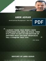 Amir Adnan - Uzair Khan & Farid Ahmed