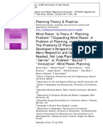 """2010_Ellis et al._Planning Theory & Practice Wind Power Is There A """" Planning Problem """" Expanding Wind Power A Problem of Planning , or of Perception The Problems Of Planning — A Developer ' s Perspective Wind Farm.pdf"""