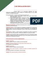Instrucciones EUR1
