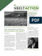 Summer 2008 Greenbelt Action Newsletter