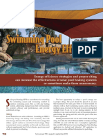 Swimming Pool Efficiency