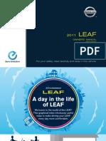 2011 Leaf Owner Manual