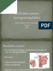 Resfriado Común, Faringitis y Faringoamigdalitis