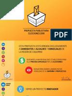 Propuesta Publicidad Elecciones 2016