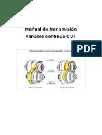 Manual Transmision CVT