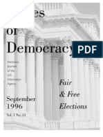 Issues of Democracy Fair n free election