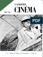 Cahiers du cinéma n. 22