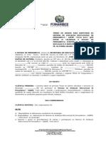 Termo de Compromisso e Adesão- Saepe 2013