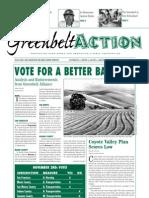 Fall 2004 Greenbelt Action Newsletter