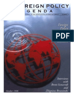 foreign policy and the 1996 presidential election