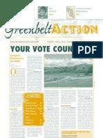Fall 2002 Greenbelt Action Newsletter