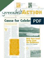 Summer 2002 Greenbelt Action Newsletter