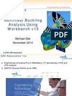 Nonlinear Buckling CAEA