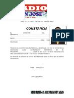 Constancia Radio