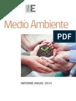 Informe Medio Ambiente2014