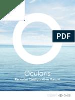 Ocularis Recorder Configuration Manual(3)