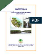 3. Masterplan Pengelolaan Ekosistem Gambut Berkelanjutan di Riau M.pdf