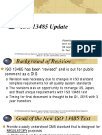 ISO 13485 Update