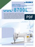 JUKI DDL 8700L