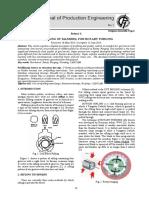 Profiling of Mandrel for Rotary Forging