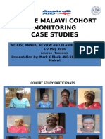 CARE MALAWI WE-RISE COHORT STUDY Presentation (Mark Kumbukani Black-Malawi 2016)