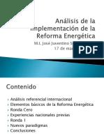 Análisis de La Implementación de La Reforma Energética