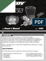 Reedy 121Vs Manual