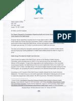 SAO Report/ Request for investigation re