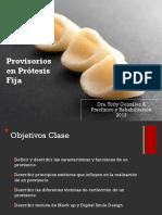 Provisorios en Odontología