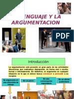 02 El Lenguaje Argumentativo
