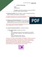 Revisão de Hematologia