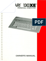 Atari 130xe Owners Manual