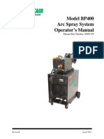 Model BP400 Arc Spray System Rev H