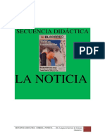Secuencia Didc3a1ctica Noticia