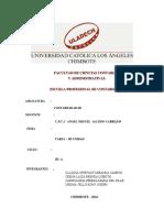 Contabilidad III III Unidad Tarea Libro Auxiliar de Proveedores