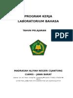 Program Kerja Lab. Bahasa
