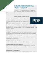 Obtener La IP de Administración Web de Linksys - Sipura