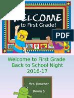 back to school night 2016-17 boucher