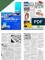 "Kuta Weekly-Edition 183 ""Bali""s Premier Weekly Newspaper"""