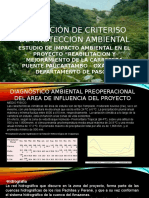 Diapositivas de Criterios de Proteccion Ambiental