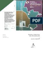 Técnica y práctica del psicoanálisis [Ralph Greenson].pdf