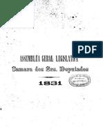 Anais 1831 Tomo I