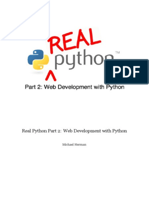 Real Python Part 2 | Command Line Interface | Python (Programming