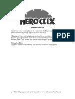 Heroclix Generic - Scenario Everyone Hates Ray (2002)